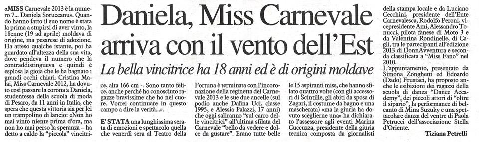 Miss Carnevale Fano 1